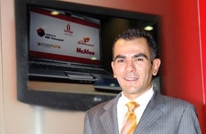 Cizar Abughazaleh, regional director for the Middle East, Africa and Turkey at Iomega.