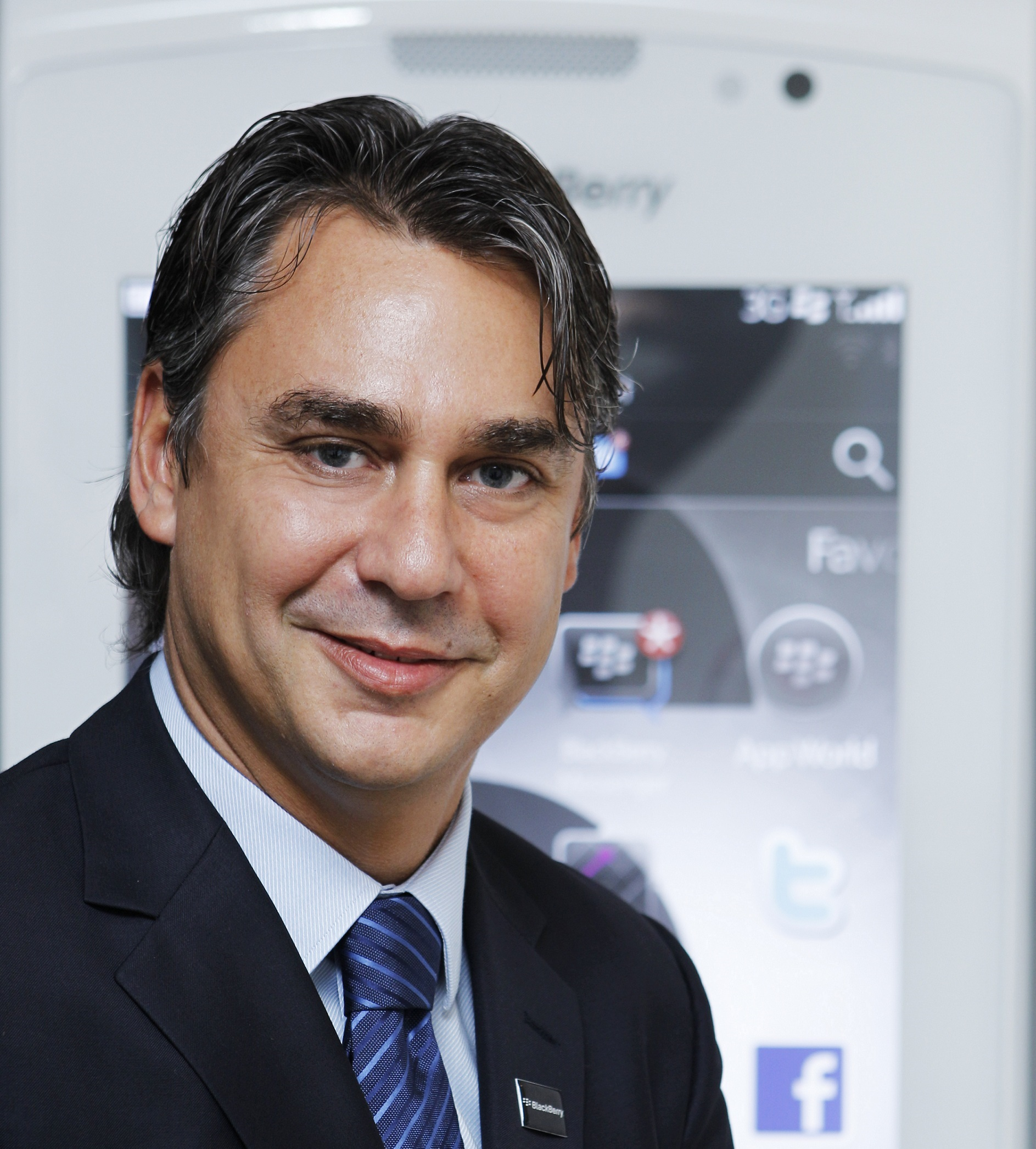 Christophe Corsi, Country Director for UAE, BlackBerry