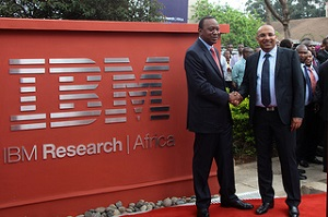 IBM Research Lab opens its door in Kenya