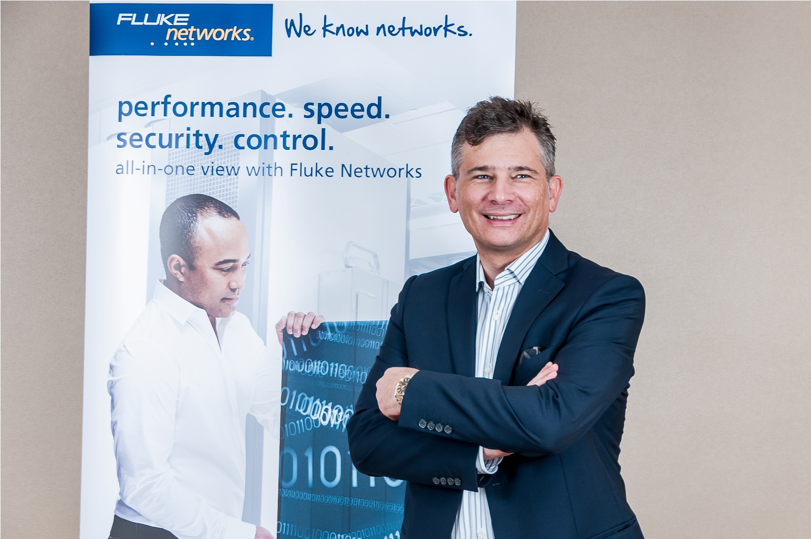 Werner Hereen Regional Sales Director, Middle East Africa and Turkey – Fluke Networks