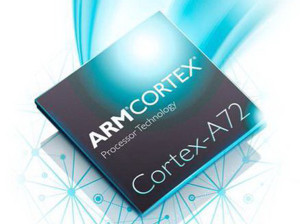 The Cortex-A72 will deliver a 75% energy consumption reduction.