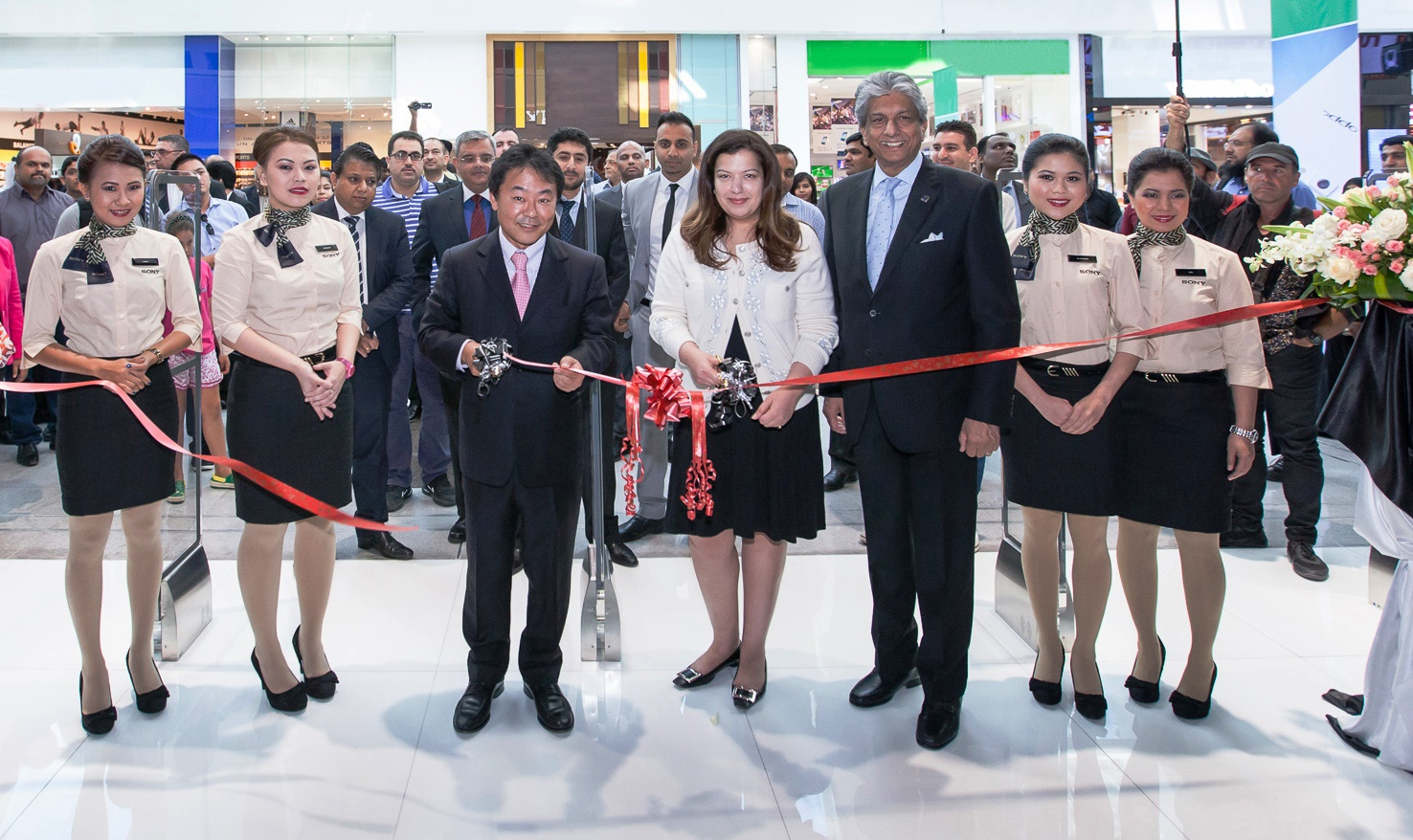 Inauguaration of Sony Boutique