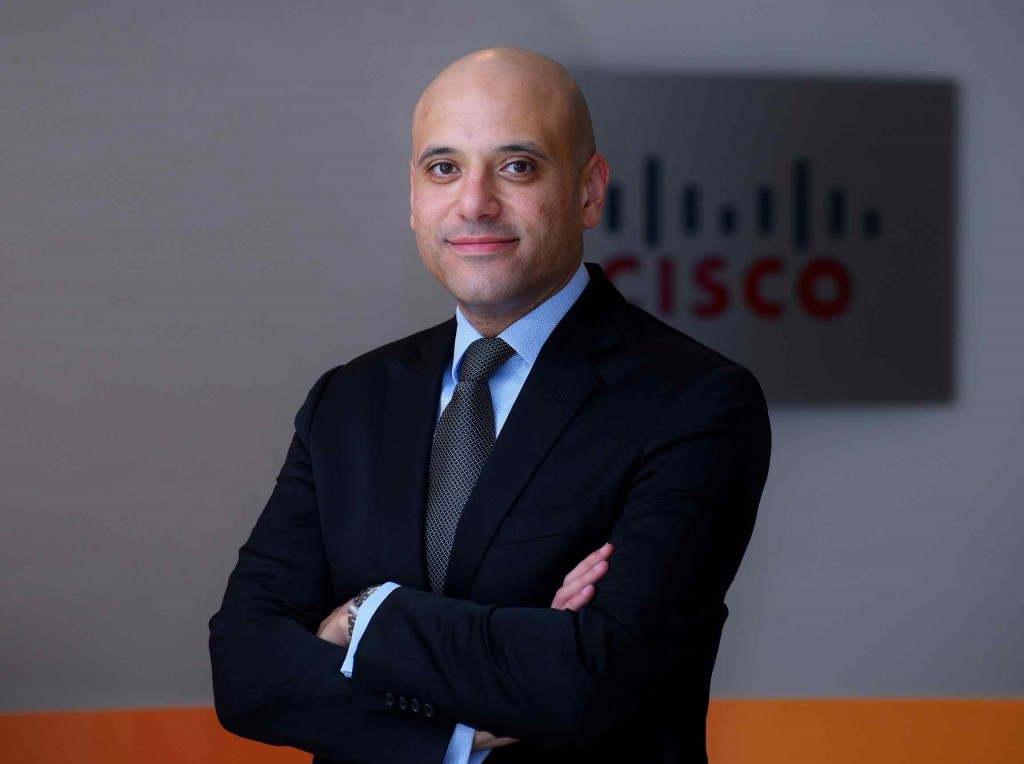Shadi Salama, the Channel Leader for Middle East at Cisco.