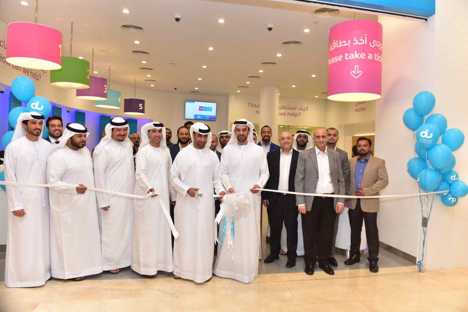 du Opens new Retail Store at Yas Mall in Abu Dhabi