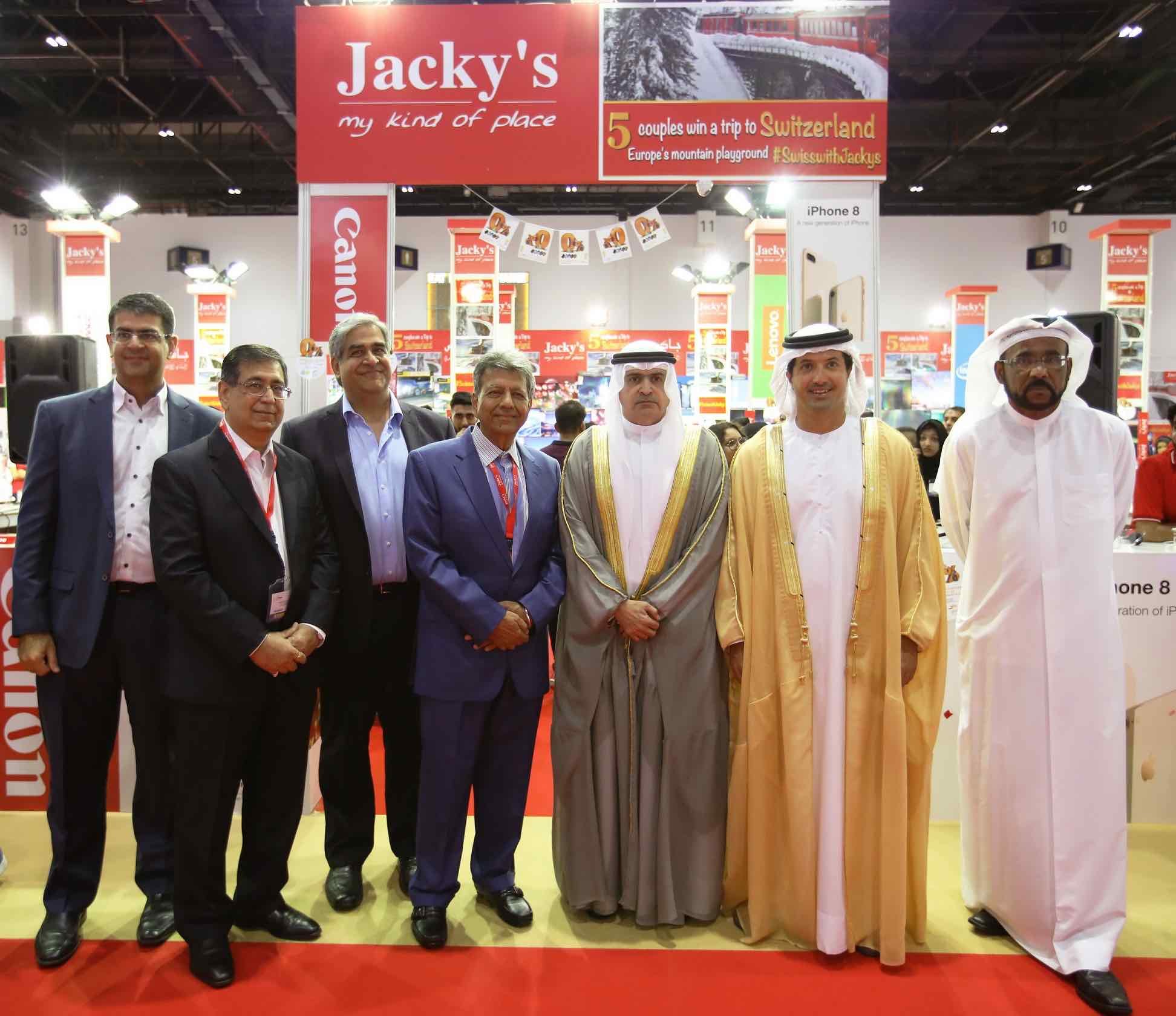 H.E. Sami Al Qamzi inaugurates GITEX Shopper 2017