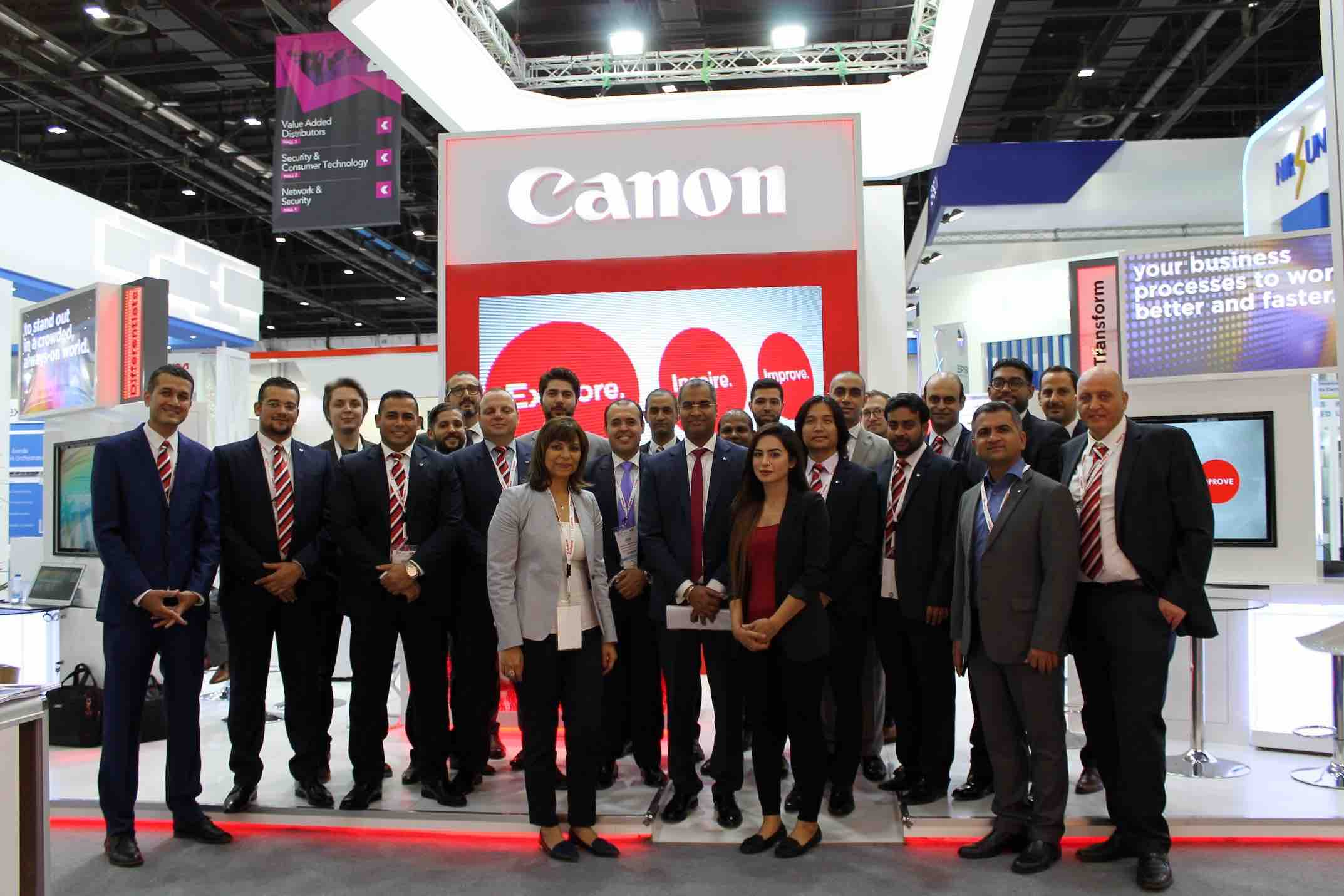 Canon participates at 37th GITEX Technology Week with future technologies and smart cities solutions copy