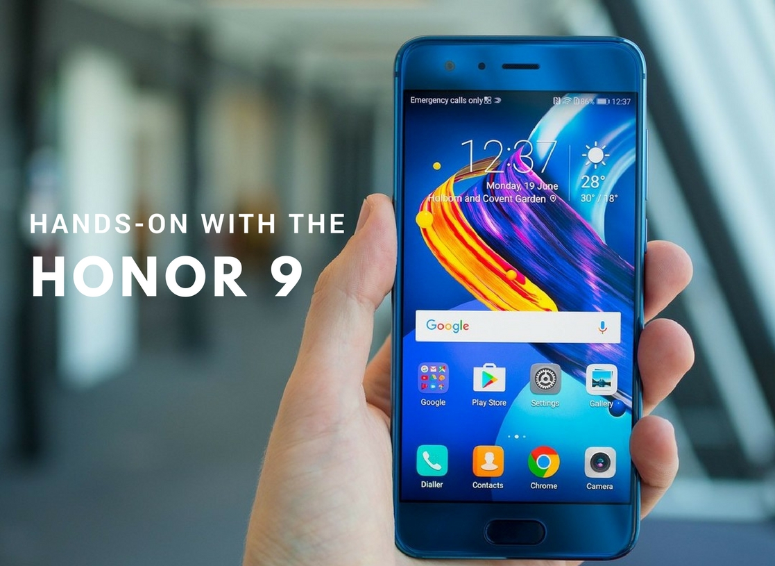 Watch: Hands-on with Honor 9