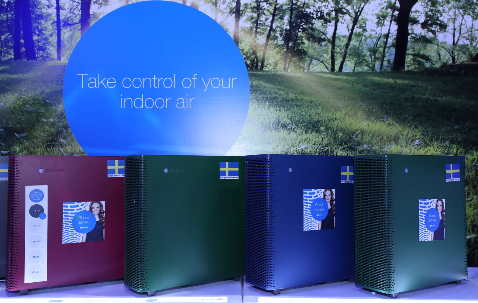 Blueair Launches New Range of Air Purifiers in the Region
