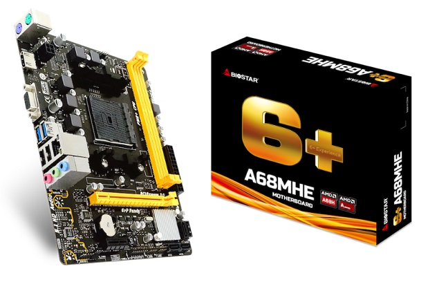 BIOSTAR A68MHE motherboard