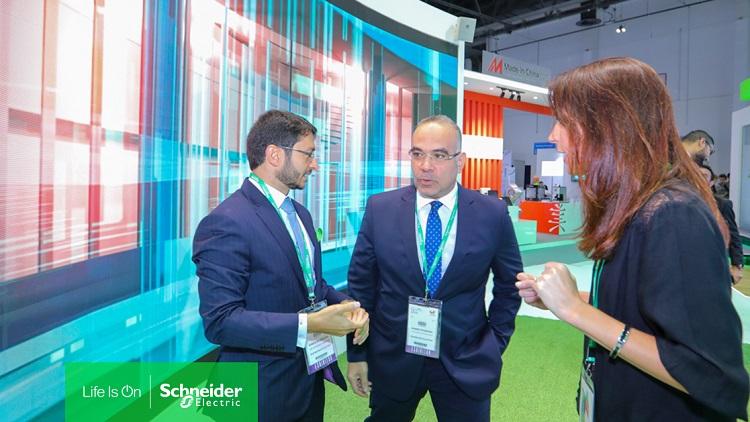 Schneider Electric is showcasing emerging technologies at GITEX