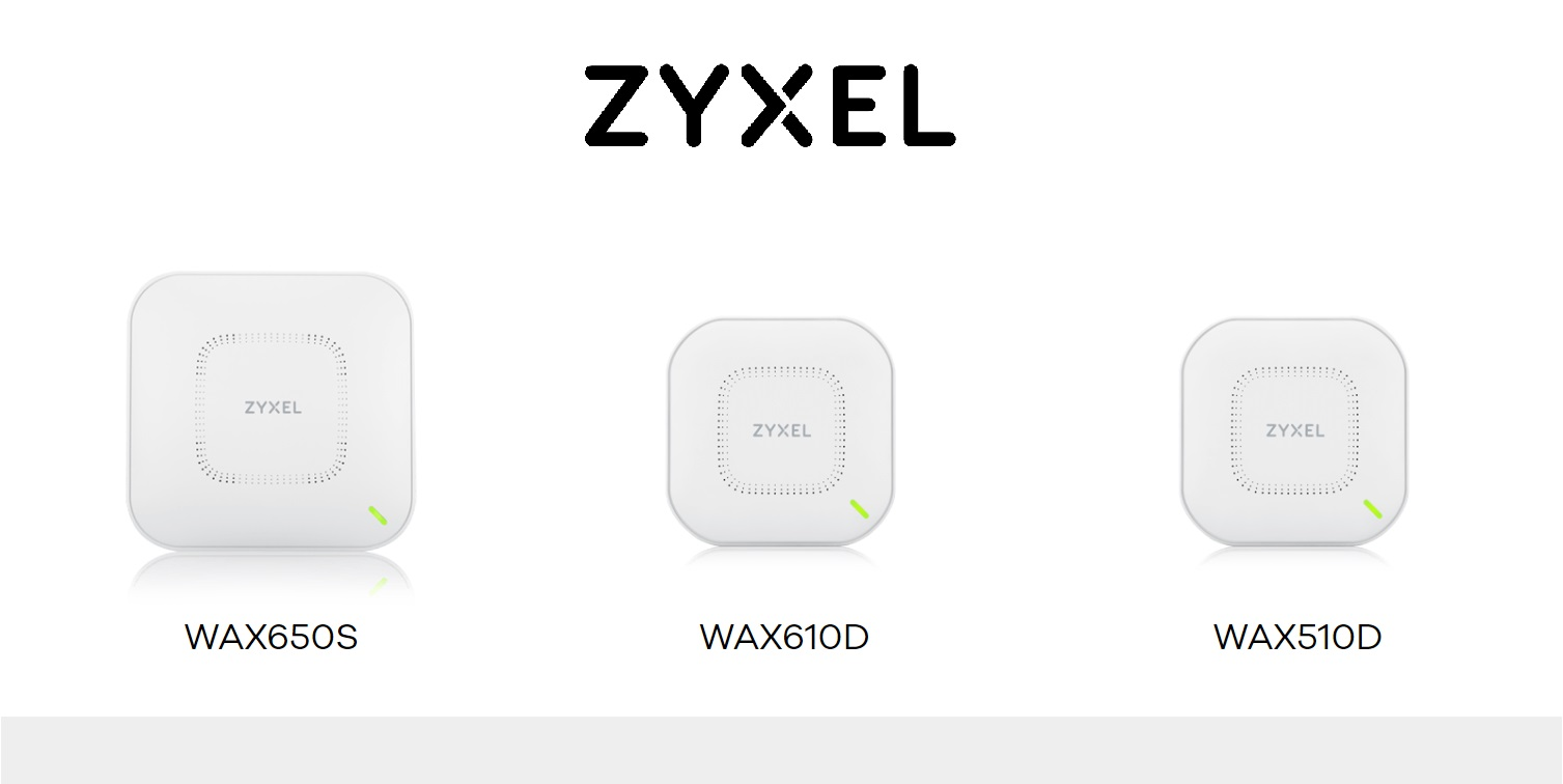 Zyxel launches new WiFi 6 access point series