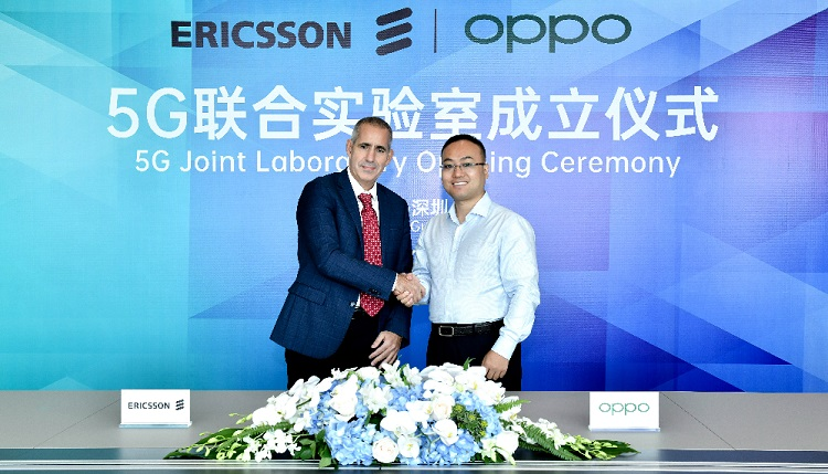 OPPO and Ericsson launch 5G Joint Lab