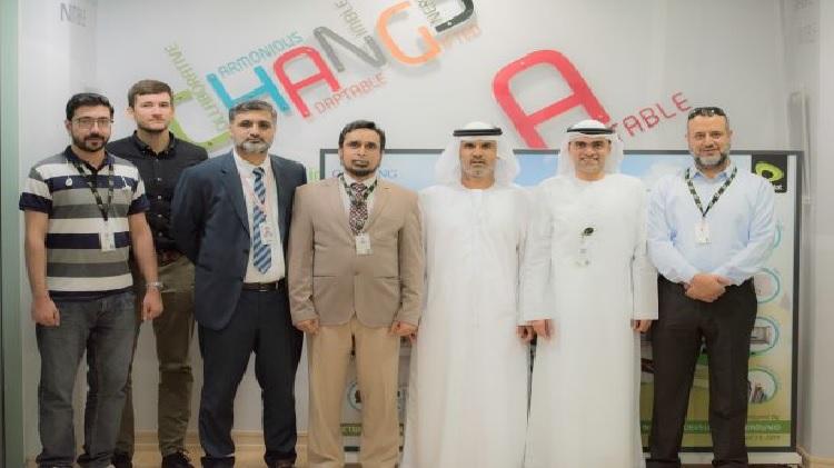 Huawei and Etisalat team