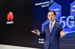 Ryan Ding, Executive Director of the Board and President of Huawei's Carrier BG