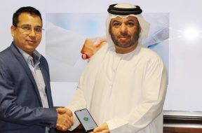 Farhad Khan, VP at XTOUCH & Salah Khoory GM at National Store (Left to Right)