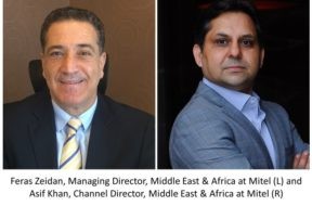 Feras Zeidan and Asif Khan from Mitel