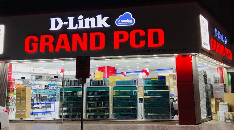 D-Link branded partner store opened in Dubai