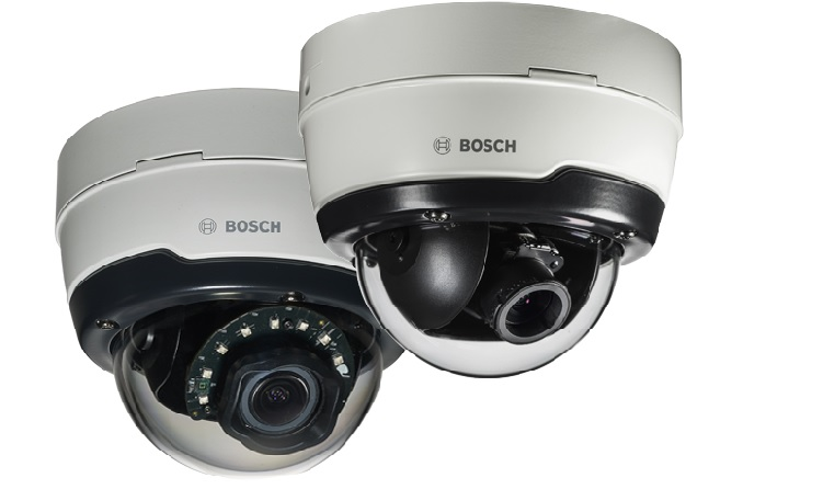 Bosch introduces new range of dome cameras with extra starlight option