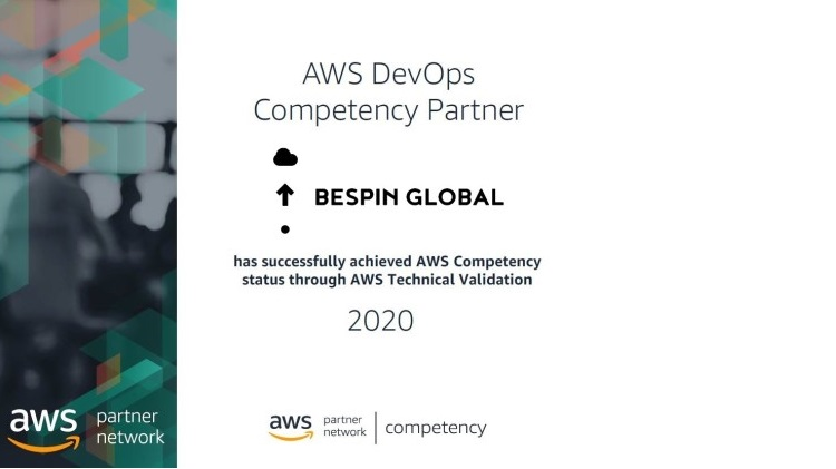 Bespin Global MEA achieves the AWS DevOps Competency Status