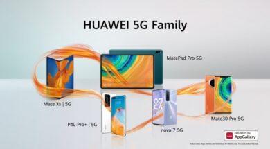 Huawei 5G family