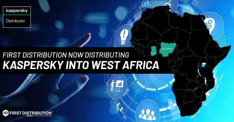 First Distribution to distribute Kaspersky in West Africa
