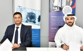 Arindam De, Managing Director, Protiviti and Hashim Al Husseini, Managing Director, Monimove