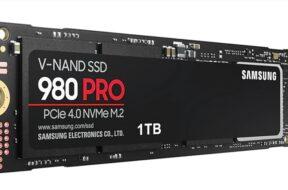 Samsung 980 Pro NVMe SSDs