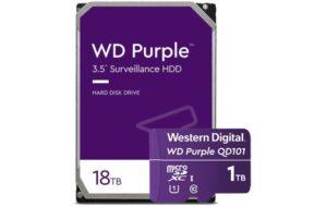 WD Purple HDD microSD