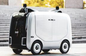 autonomous logistics robot for last-mile deliveries