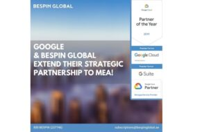Bespin Global MEA is now a Google Cloud platform and G Suite reseller in the MEA