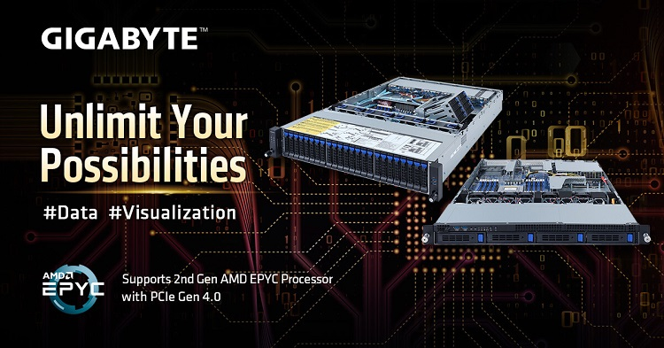 GIGABYTE launches two new rack servers