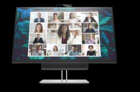 HP E24d and E27d Conferencing Monitors