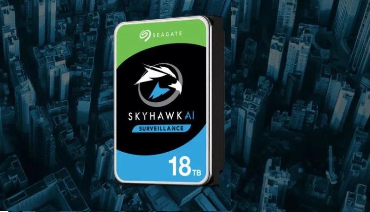 Seagate unveils 18TB SkyHawk AI drives