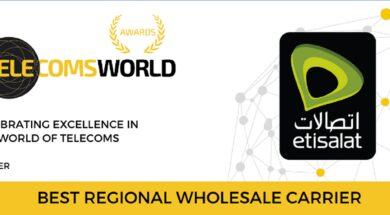 Telecoms World ME Awards – Etisalat