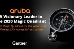 Aruba gets recognized by Gartner