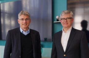 Börje Ekholm, President & CEO of Ericsson and Erik Ekudden, Group CTO and Head of Technology & Strategy