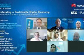 SAMENA Telecom Council titled 'Accelerating a Sustainable Digital Economy'