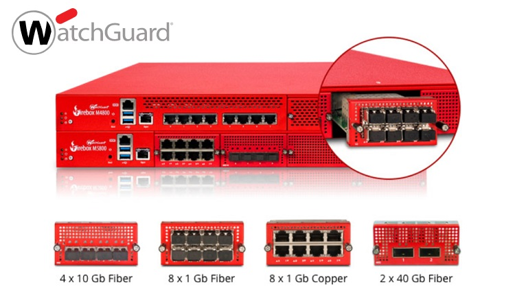 WatchGuard announces new firewall appliances