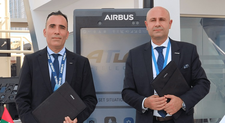 Airbus join forces with Atlas Telecom