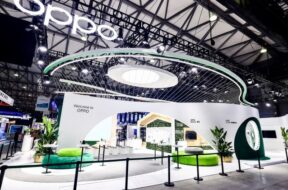 OPPO Booth MWCS 21