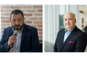 Ziad Shatara, Umniah Chief Executive Officer (L) and Fadi Pharaon, President of Ericsson Middle East and Africa (R)