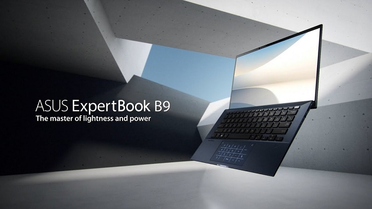 ASUS launches ExpertBook B9 business laptop