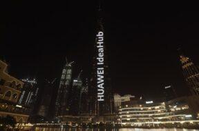 HUAWEI IdeaHub lights up Burj Khalifa