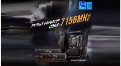 HyperX Predator DDR4 memory sets a new world record