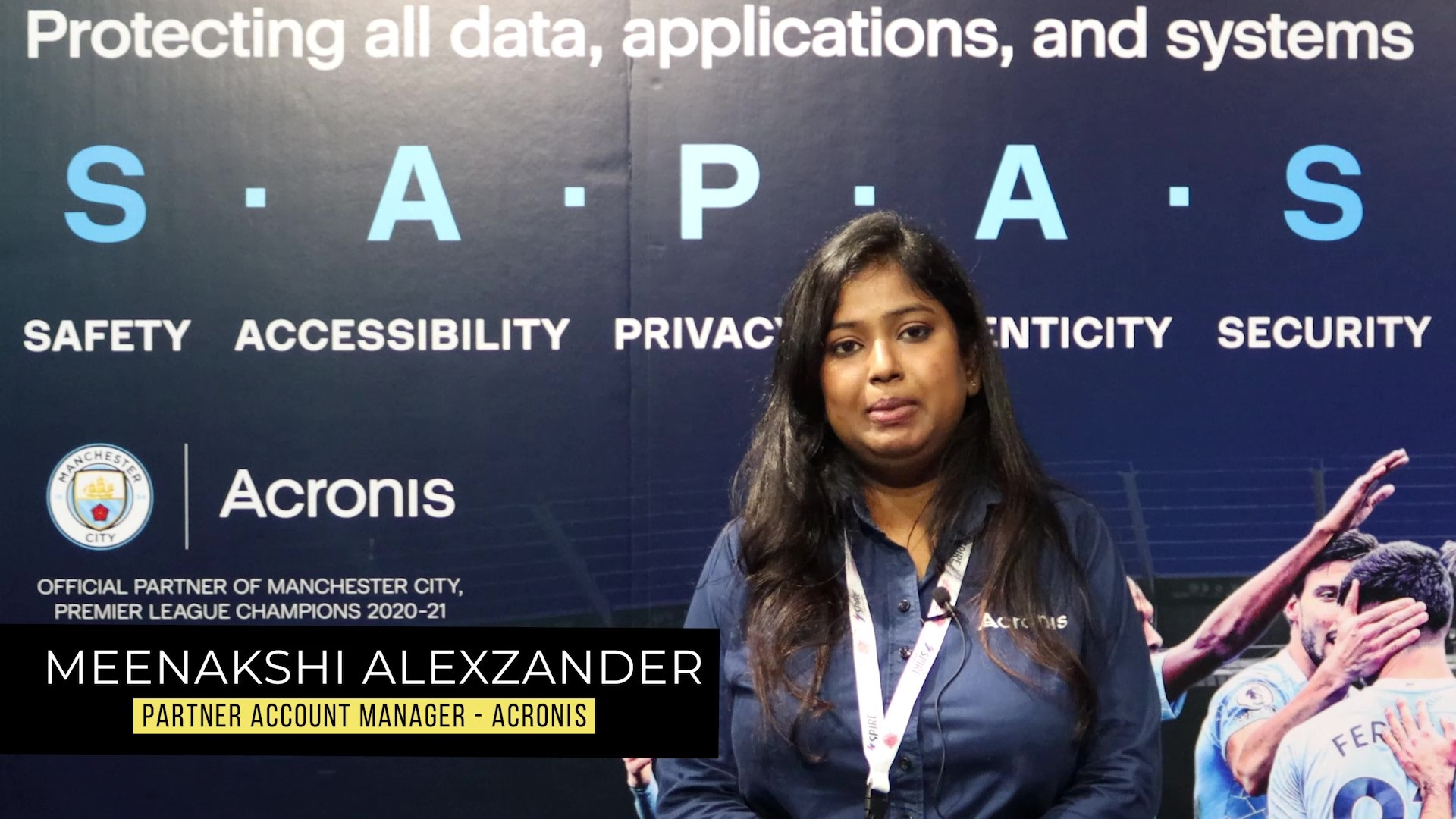 Acronis at GISEC 2021