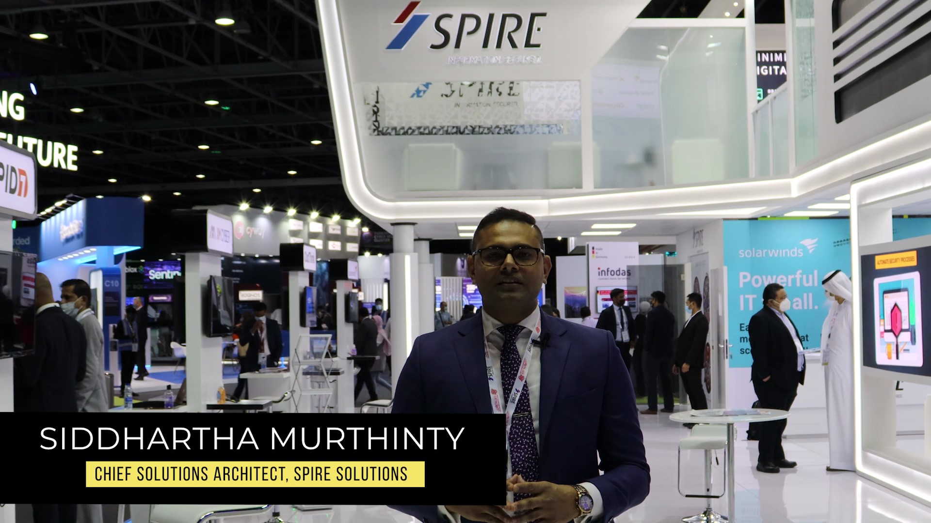 Spire Solutions at GISEC 2021