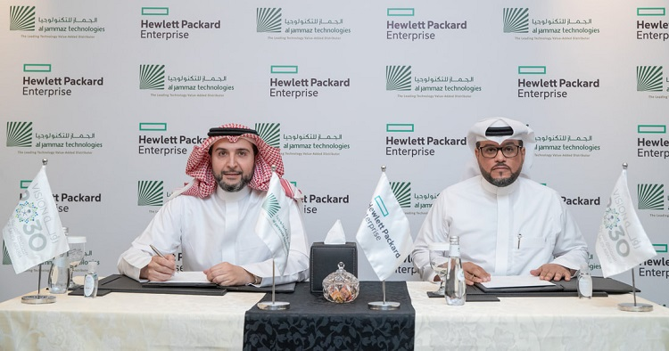 AlJammaz Technologies signs distribution agreement with HPE