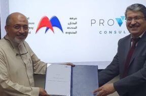 Left to Right – Fathi Abdullah Ba-Isa, Managing Director of UWC & Anas Abdul-Haiy, CEO and Deputy Director at Proven Consult