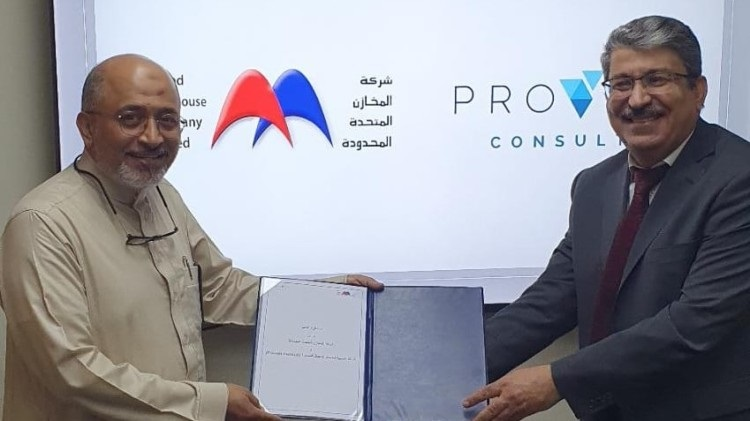 Proven Consult and United Warehouse company sign a MoU