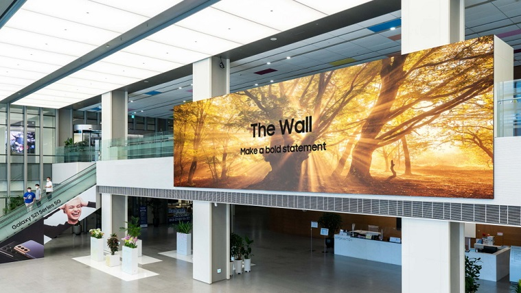 Samsung launches new version of The Wall